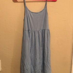 babydoll dress with keyhole back .